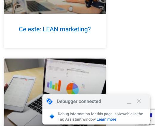 Google Tag Assistant conectat