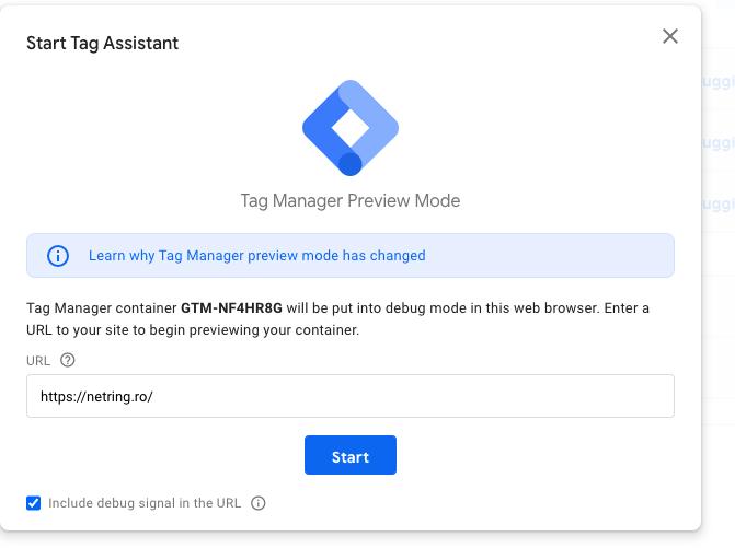Lansare Google Tag Assistant
