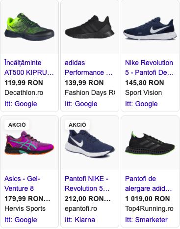 Reclamă Shopping Ads pentru magazine online